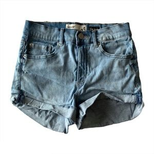 Garage super soft hi rise shorts
